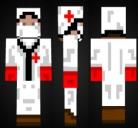 Doctor who (matt smith) hd скин (2048x1024) для minecraft.