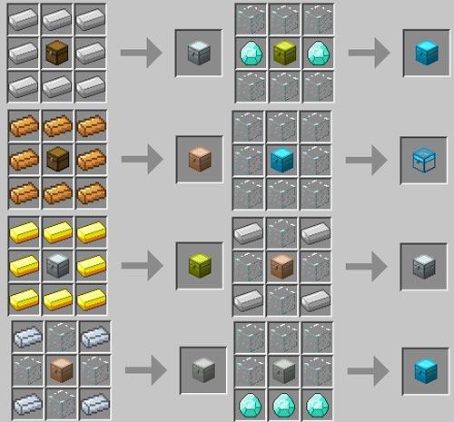 Как в майнкрафте сделать алмазный
