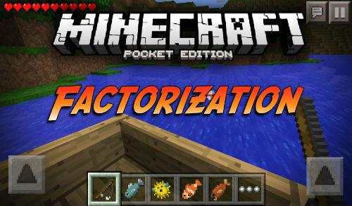 Мод factorization для minecraft pe 0. 14. 0, 0. 15. 0.