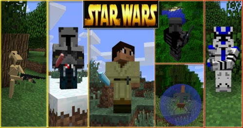 1. 6. 4] star wars mod download | minecraft forum.