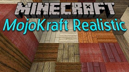 Скачать [1.7.2] MojoKraft Realistic [256x] для игры в ...